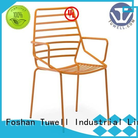 Tuwell Brand bar wire lucy black wire chair