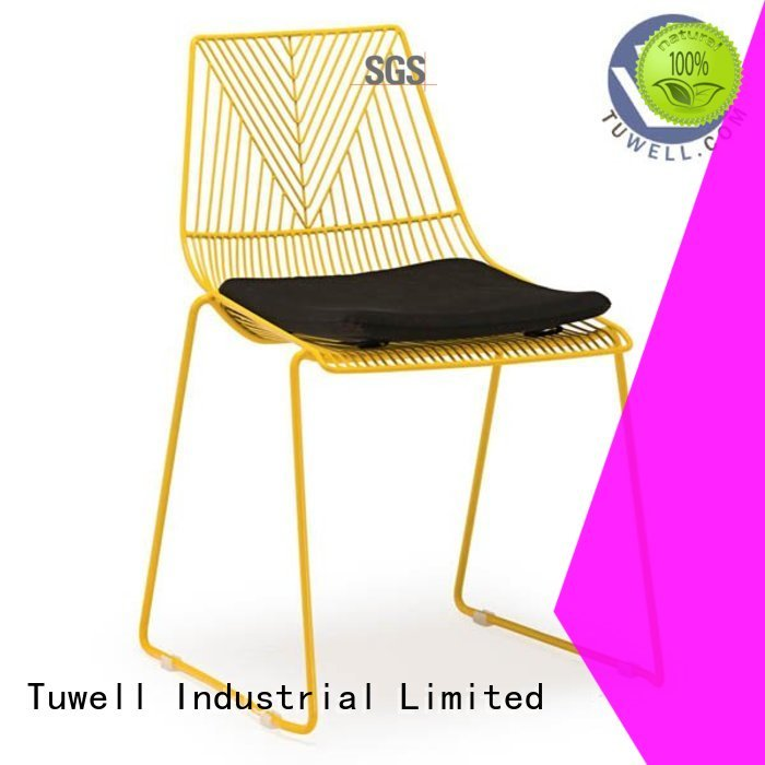 Quality Tuwell Brand wire steel wire chair