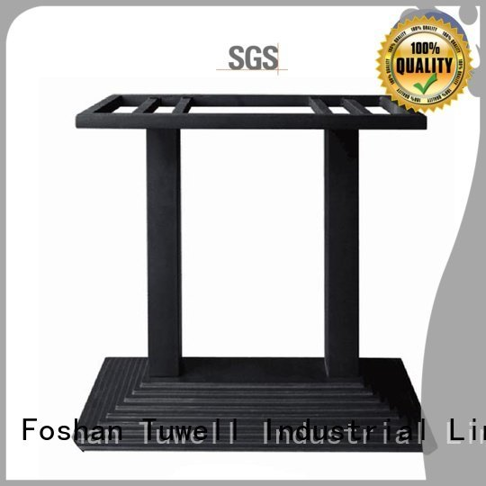 Outdoor Mounting steel Self-Sabilizing Tuwell cast table base