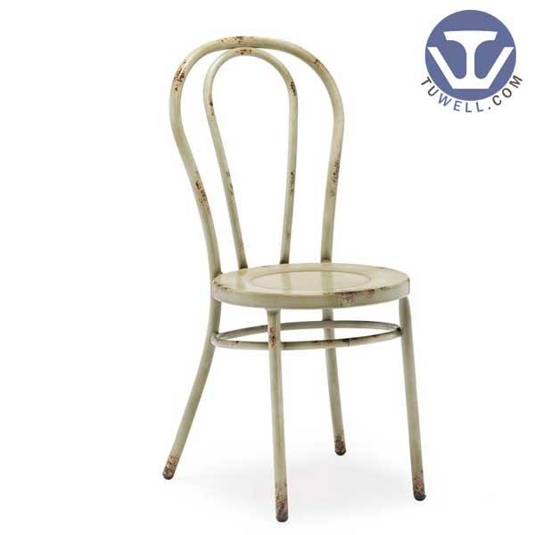 TW8013 Aluminum thonet chair, metal dining chair