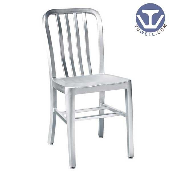 TW1004 Aluminum Navy Side Chair