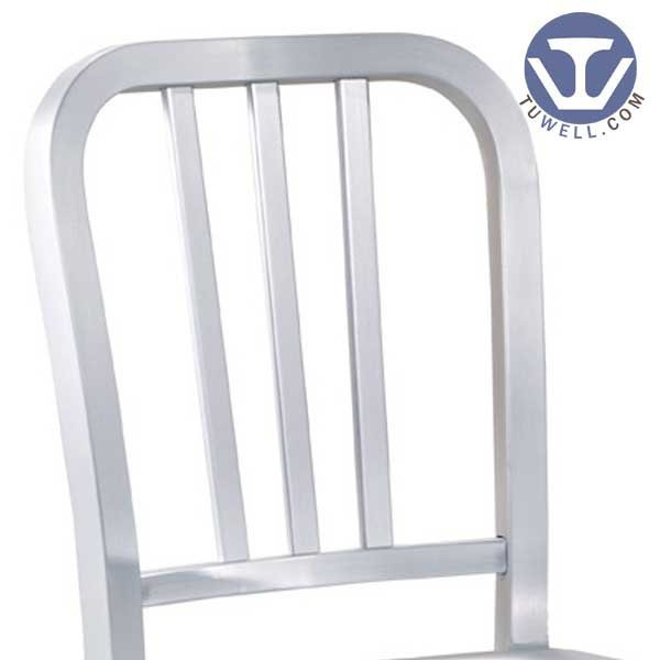 TW1005 Emeco Aluminum Navy Chair indoor and outdoor dining chair American industrial style