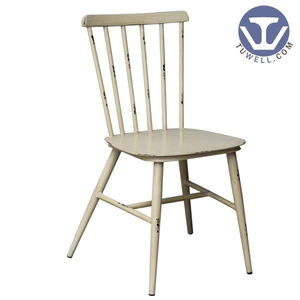 TW8101 Aluminum windsor chair indoor and outdoor for dining Nordic style