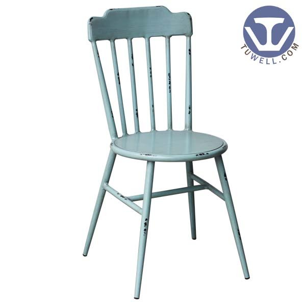 TW8102 Aluminum windsor chair indoor and outdoor Aluminum dinning chair coffee chair party chair banquet chair Nordic style