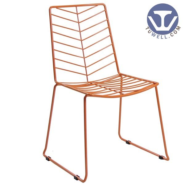 TW8604 Steel wire chair, dining chair, restaurant chair, bistro chair