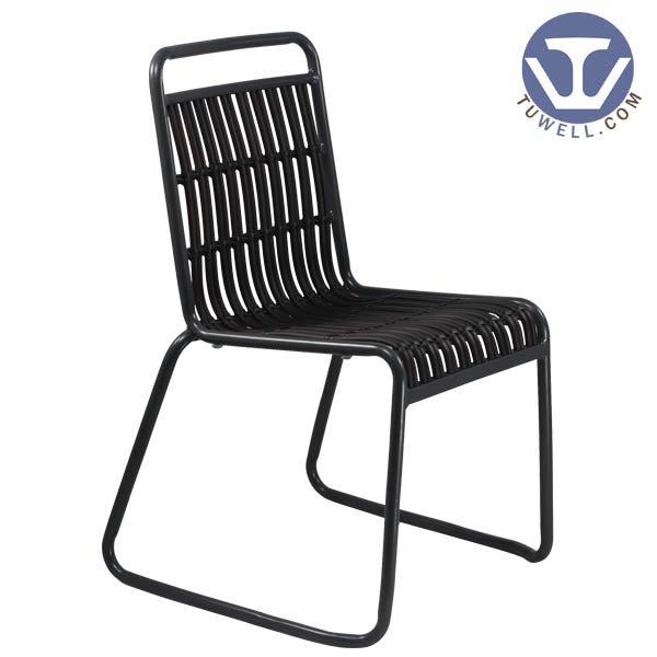 TW8109 Aluminum rattan chair