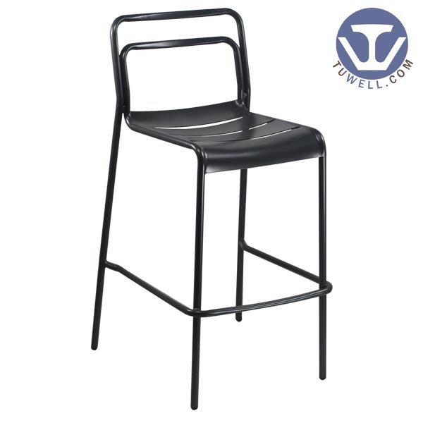 TW8107-L Aluminum bar chair bistro bar chair