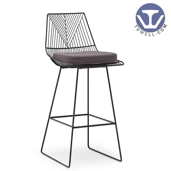 TW8613-L Steel wire bar chair, lucy chair, dining chair, Bertoia chair, restaurant chair