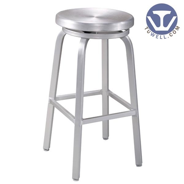 TW1009-L Emeco Navy Barstool indoor and outdoor strong Aluminum dinning chair coffee chair party chair banquet chair