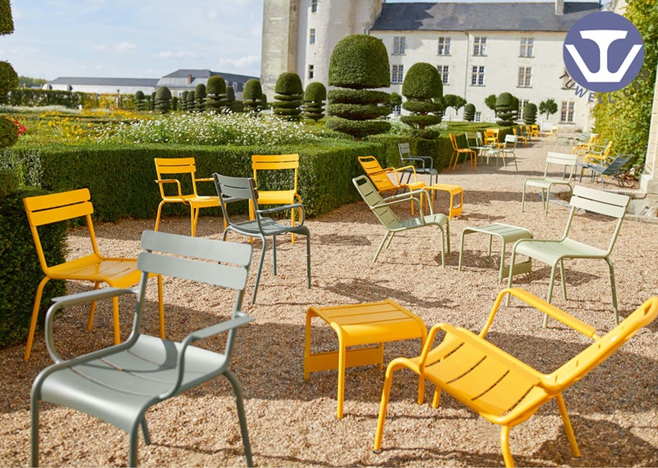 France customer- Outdoor aluminum Fermob chair, table and sofa