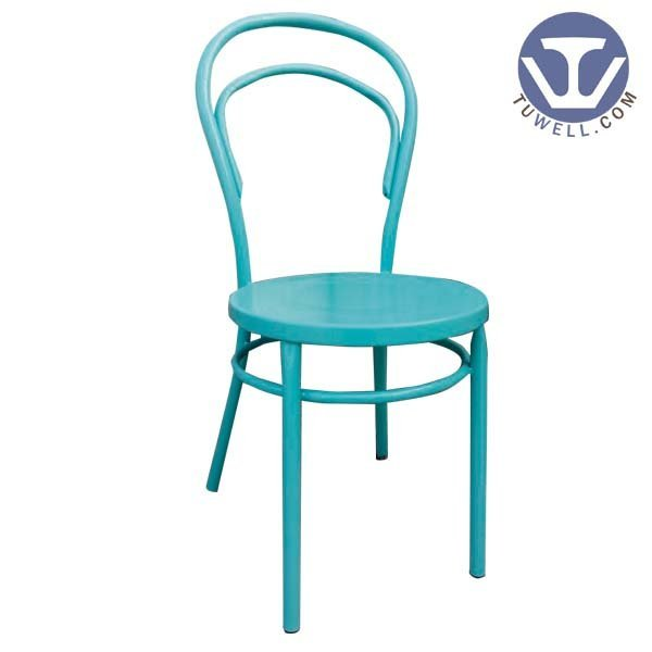 TW8017 Aluminum thonet chair metal dining chair
