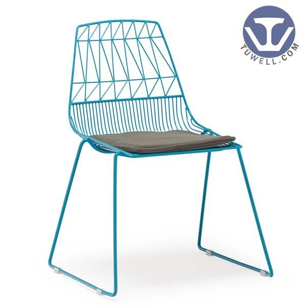 TW8602 Steel wire chair, lucy chair