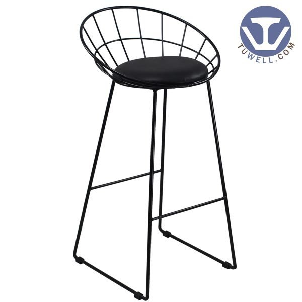 TW8616-L Steel wire bar chair, dining bar chair, restaurant chair