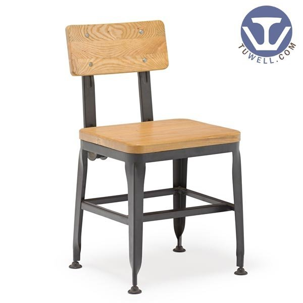 TW8060-W Steel Simon chair metal dining chair