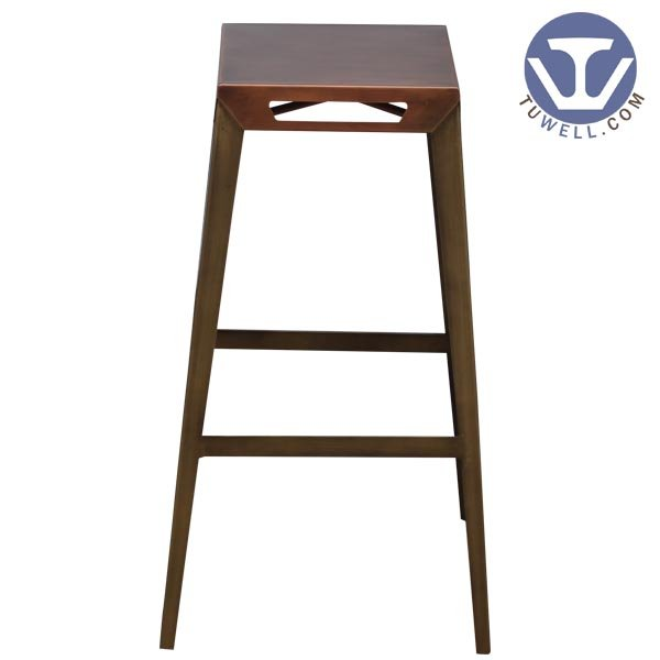 TW8088-L Steel bar stool indoor and outdoor strong dinning stool coffee shop chair  American industrial style