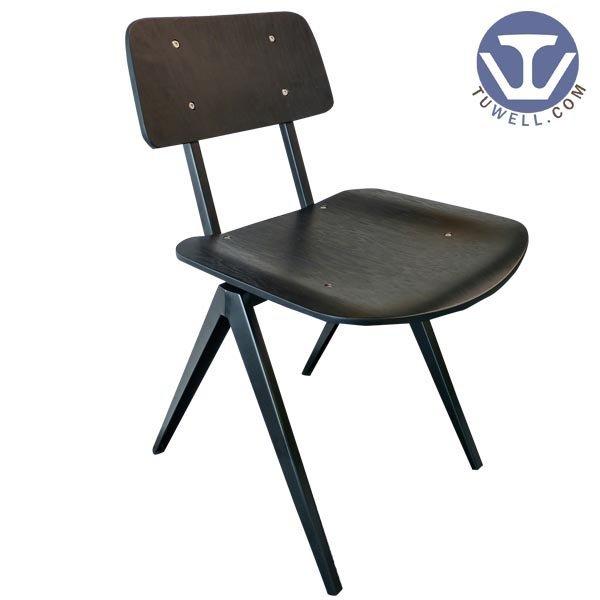 TW6107 Steel bentwood chair