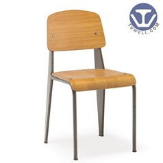 TW8062 Steel chair metal dining bentwood chair