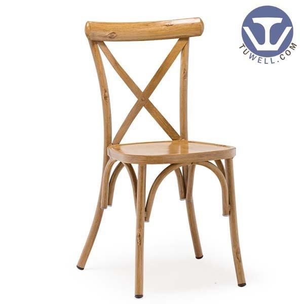 TW8080 Aluminum cross back chair