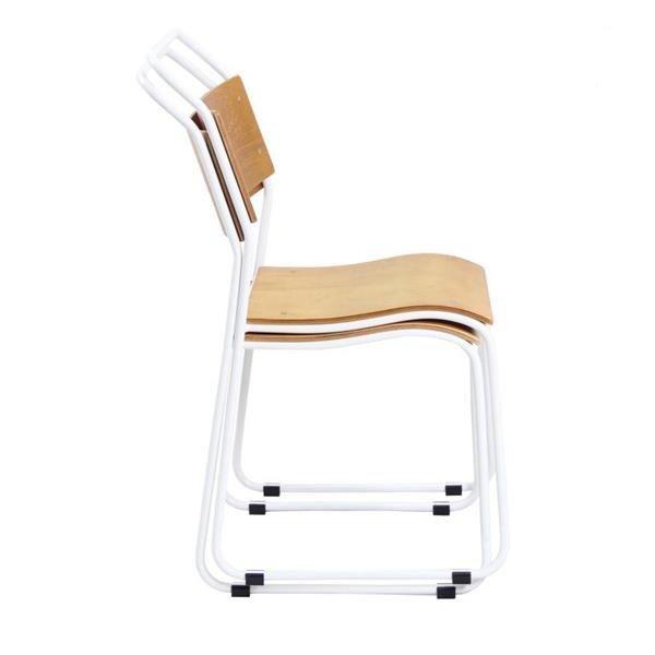 TW6106 Steel bentwood chair