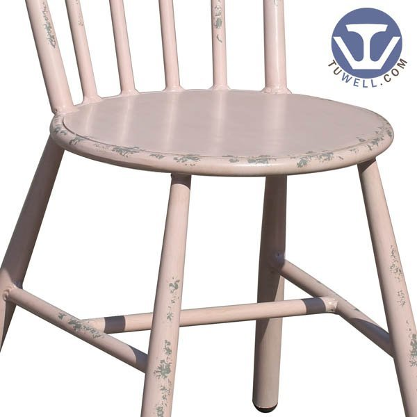 TW8114 Aluminum windsor chair indoor and outdoor for dining room nordic style