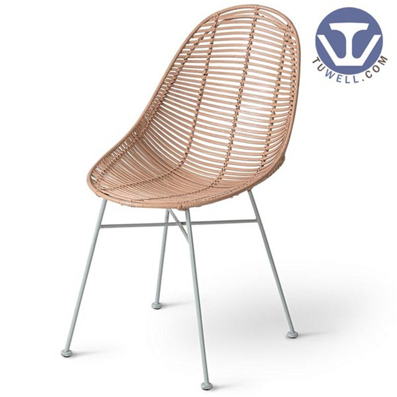 TW8715 Metal Rattan chair European leisure style