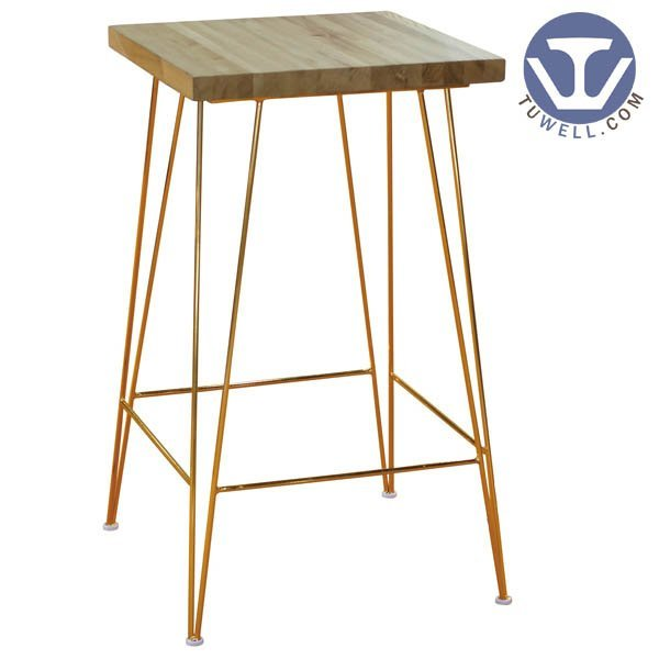 TW8621 Steel bar table cafe bar table