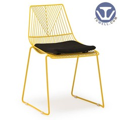 TW8601 Steel wire chair, lucy chair