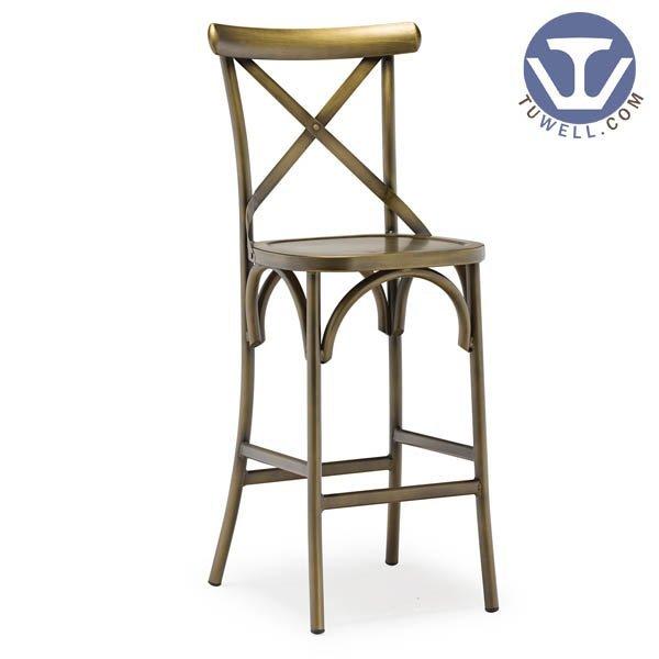 TW8022-L Aluminum cross back chair