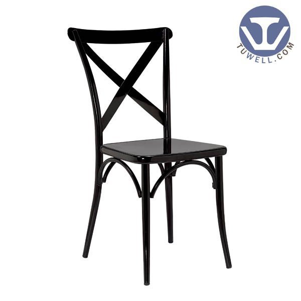 TW8092  Steel cross back chair dinning chair American country style