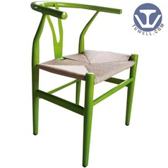 TW8064 Steel wishbone chair, Y chair