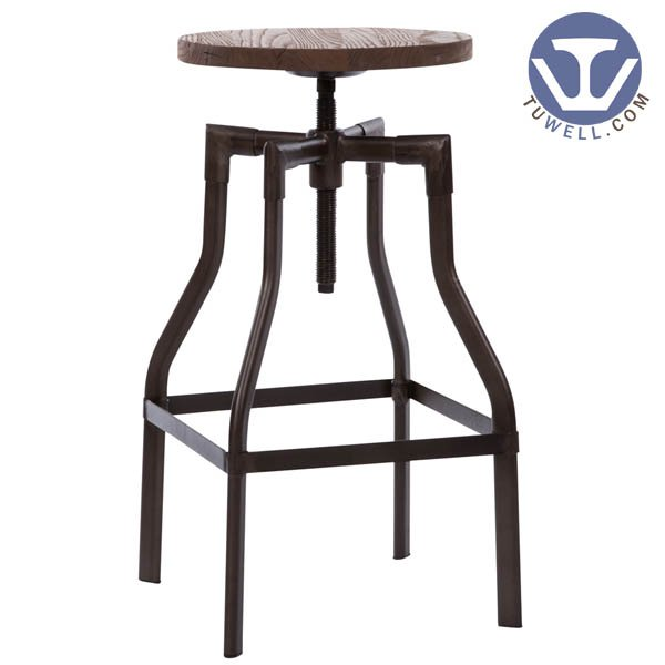 TW8039 Steel bar stool coffee shop bar stool Nordic style