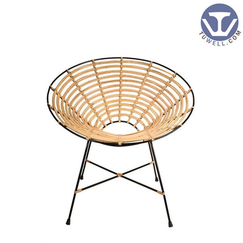 TW8712 Rattan chair  Aluminum rattan chair living room chair dinning chair coffee chair party chair European leisure style high