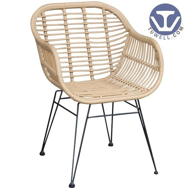 TW8711 natural Rattan chair indoor and outdoor rattan furniture European leisure style