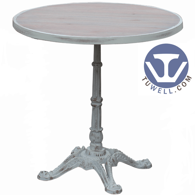 TW7027 Metal dining table cafe table