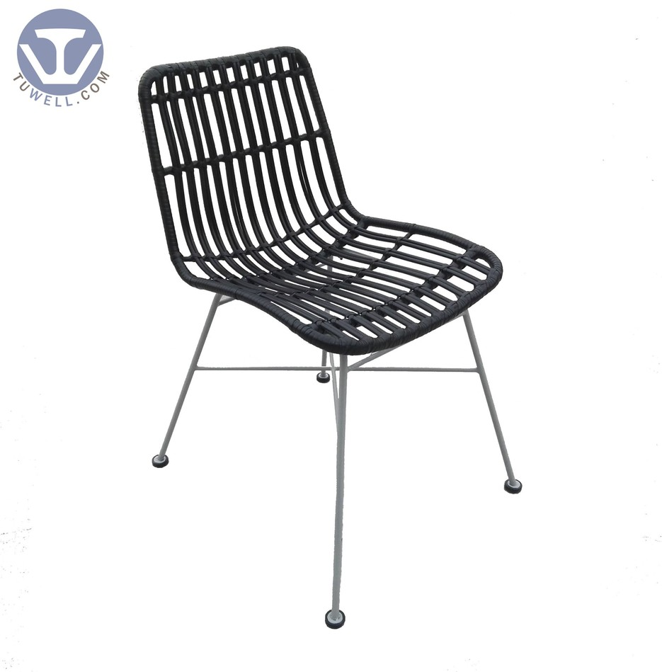 TW8717 indoor outdoor Aluminum rattan chair dinning chair coffee chair party chair European leisure style high quality supplier