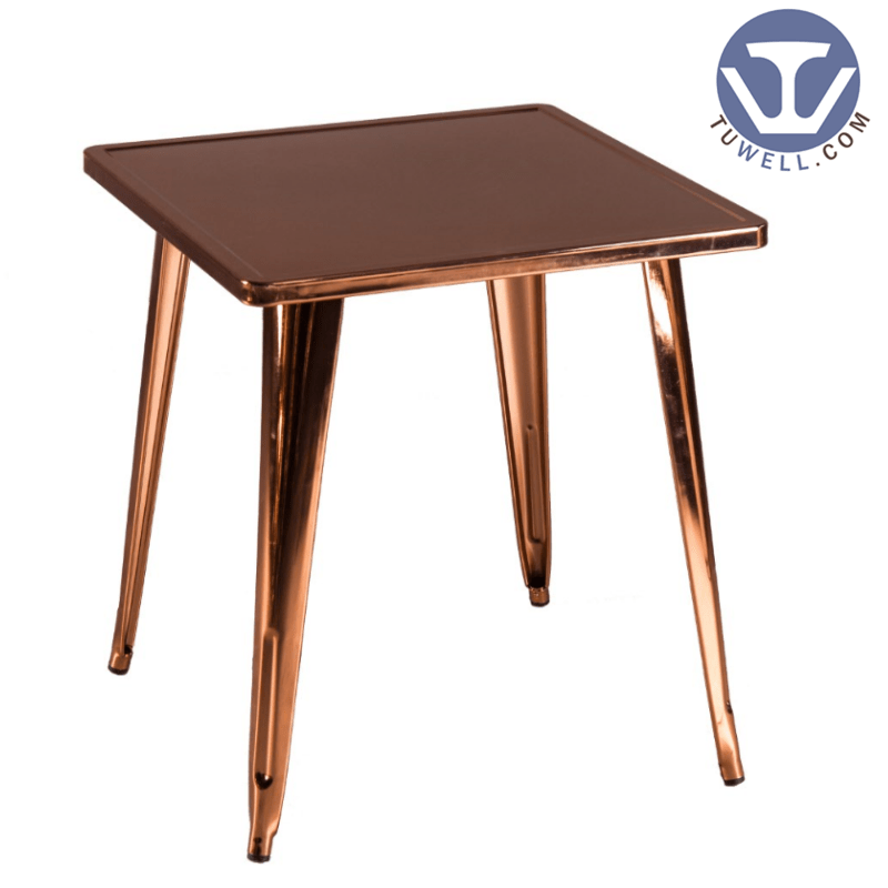 TW7033  Metal dining table cafe table