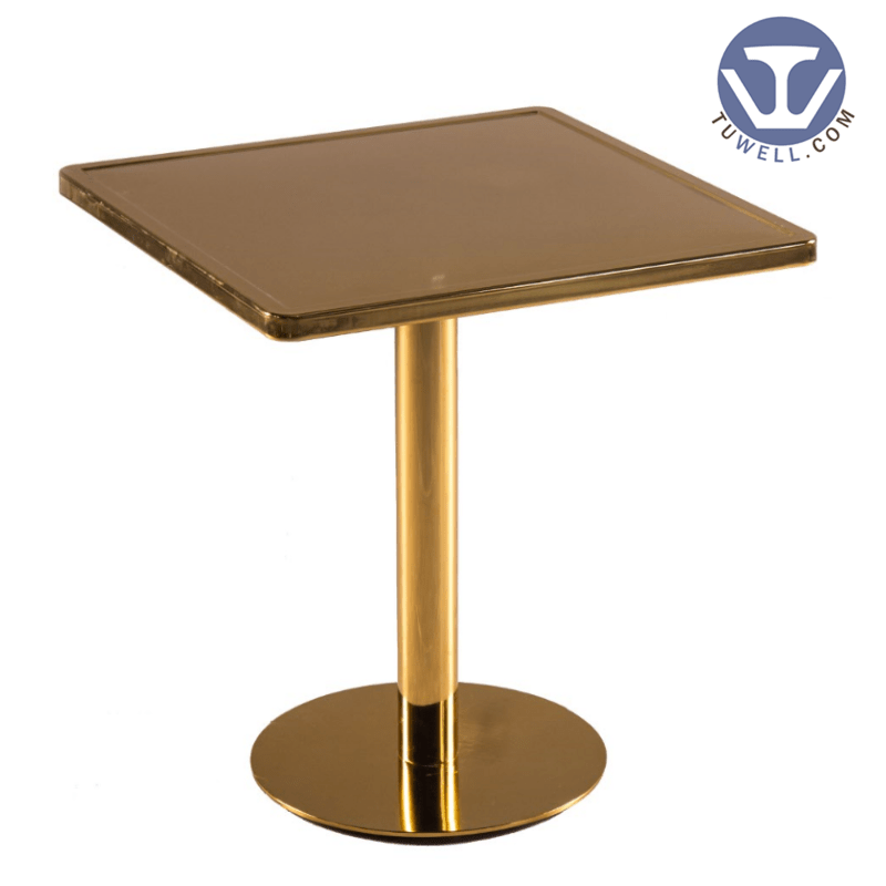 TW7034  Metal dining table