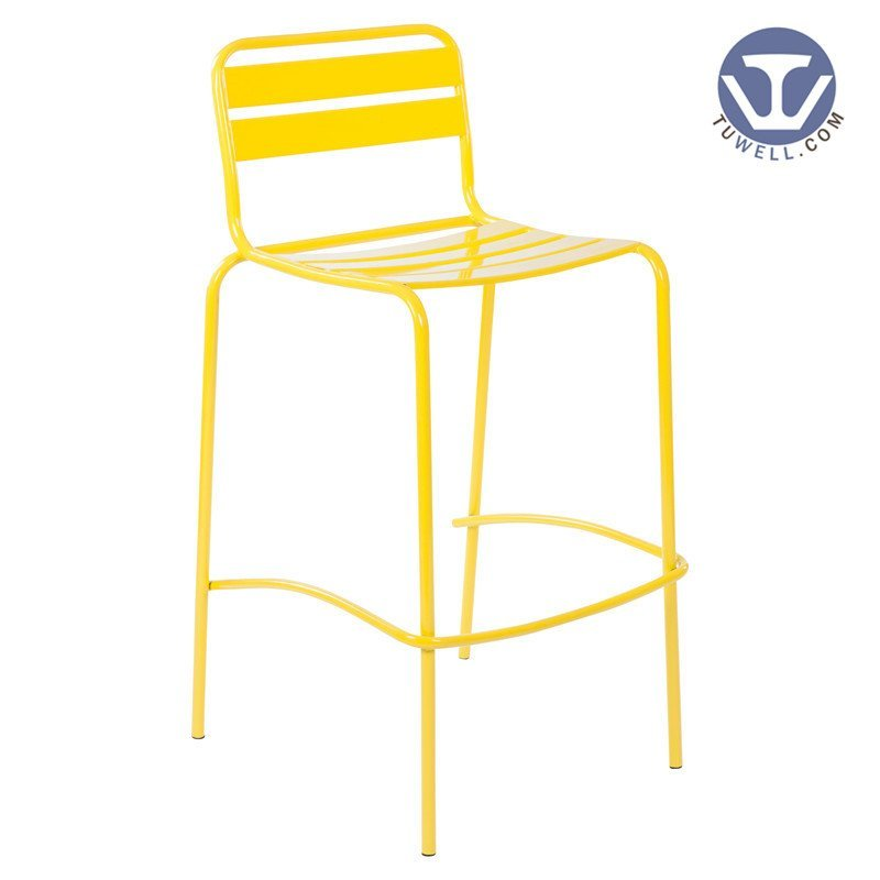 TW6422-L Steel bar chair dining bar chair coffee chair Nordic style