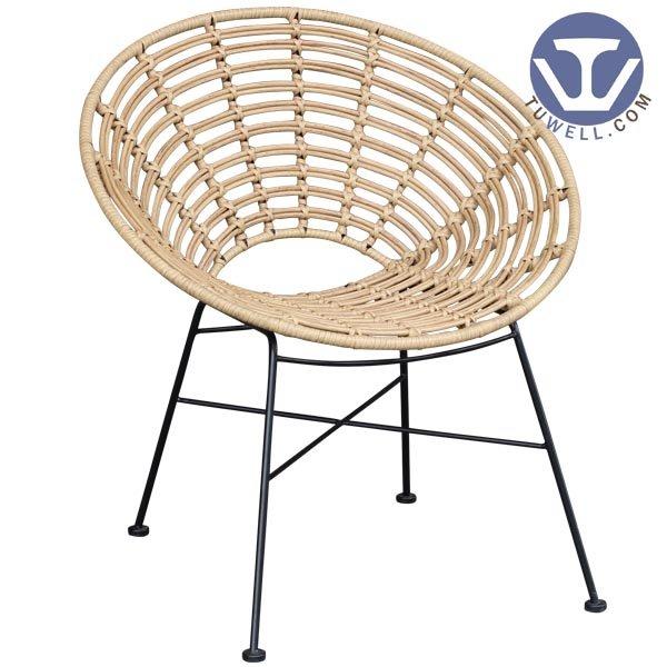 TW8712 Lounge rattan armchair living room furniture European leisure style