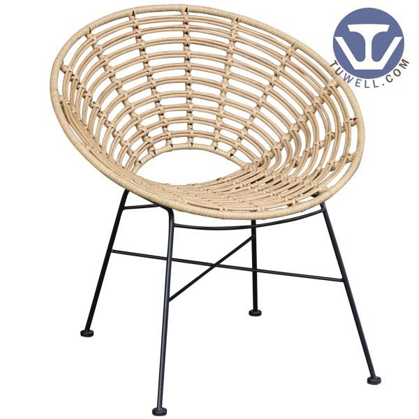 TW8712 Lounge rattan armchair living room furniture European leisure style