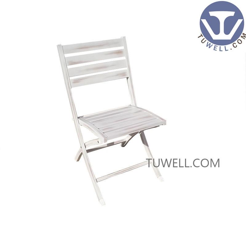 TW8742 Aluminum folding chair dining chair