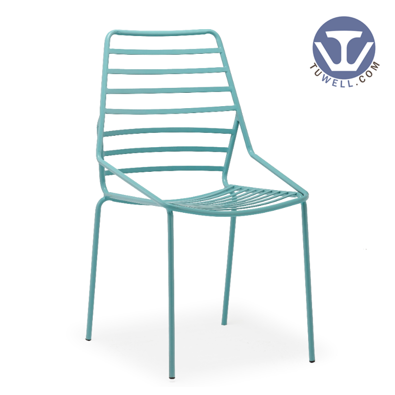 TW9001 Steel wire chair, metal dining chair, steel dining chair