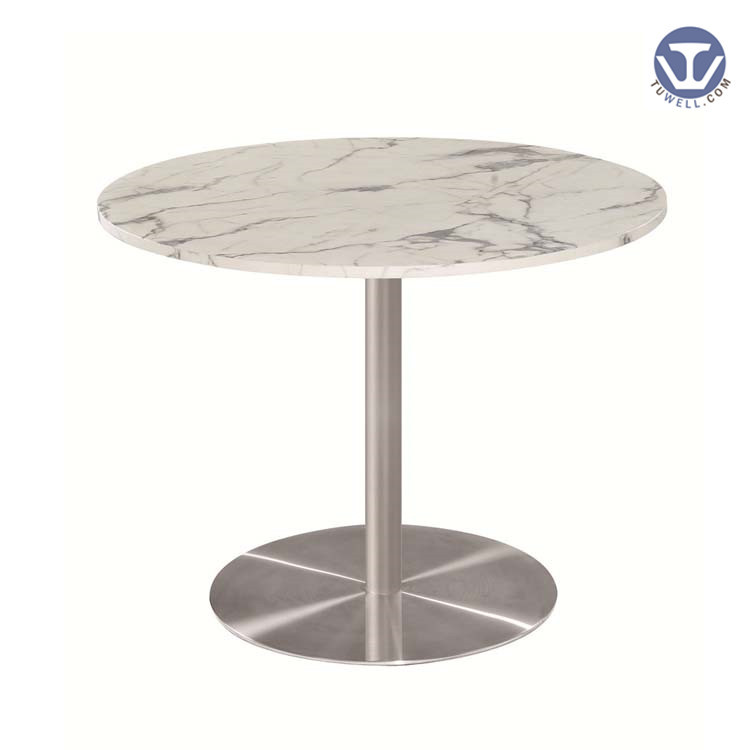 TW7046 Artificial quartz stone table, coffee table, restaurant table
