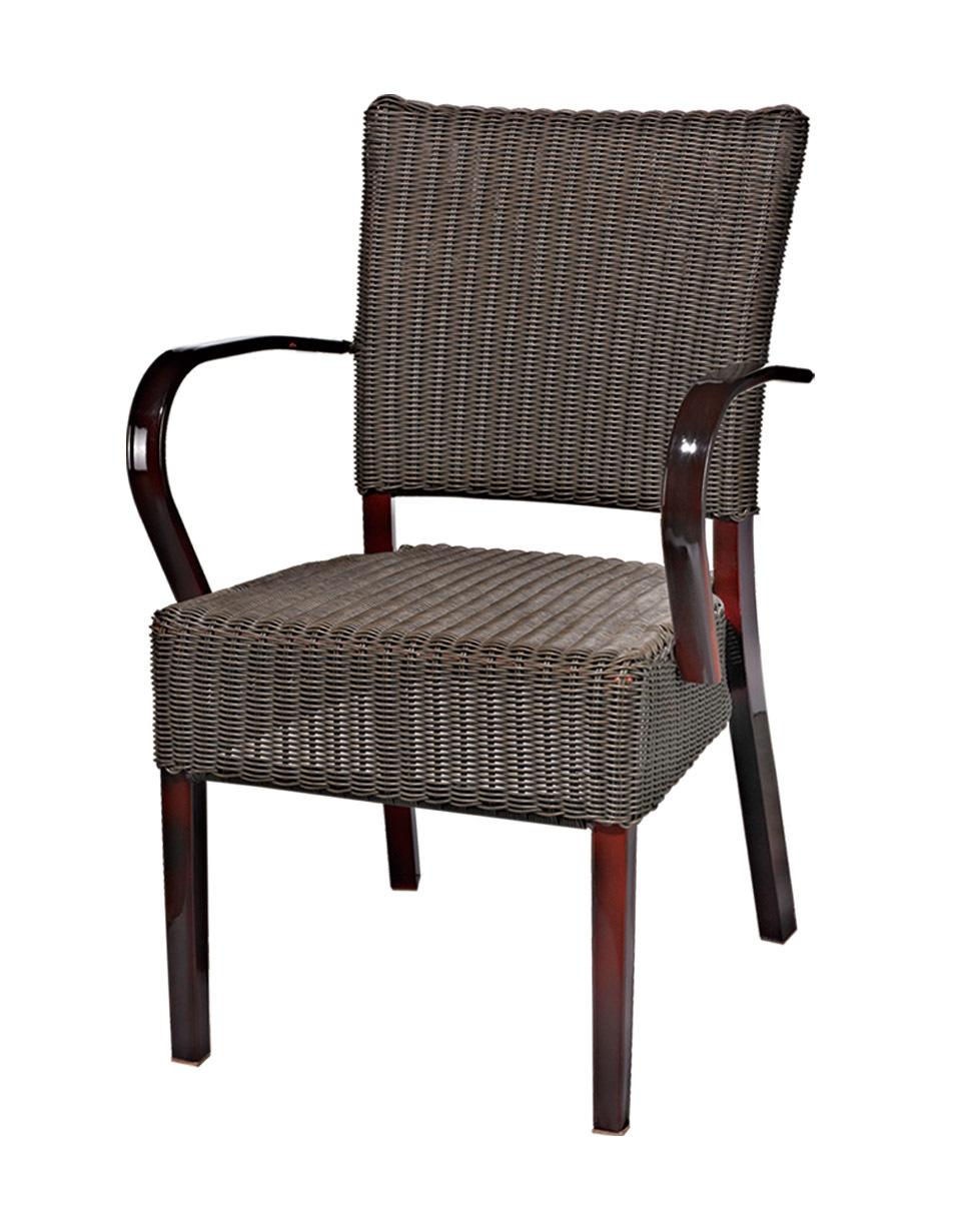 TW3003  aluminum rattan chair
