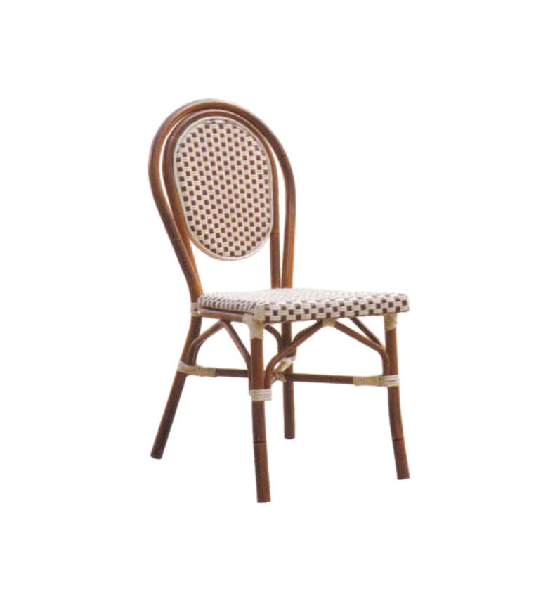 TW3015  aluminum rattan chair