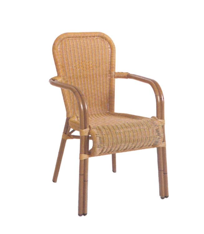 TW3019 aluminum rattan chair