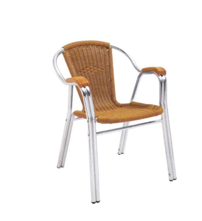 TW3020 aluminum rattan chair