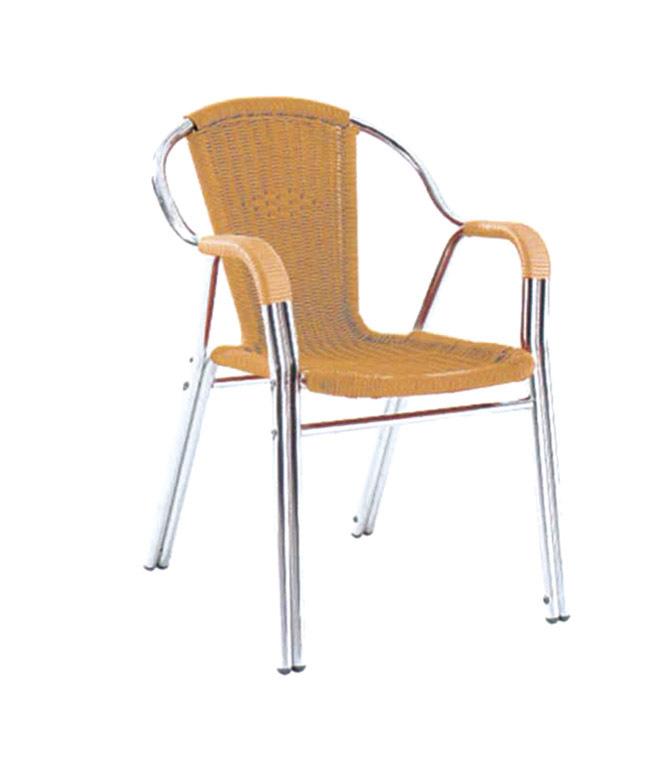 TW3021 aluminum rattan chair