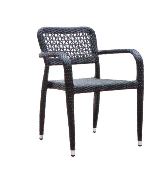 TW3022 aluminum rattan chair