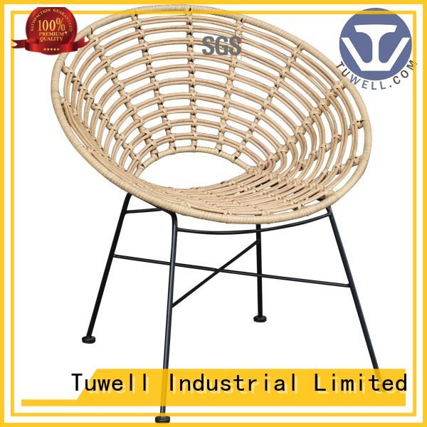 aluminum bar Rattan chair wholesale ODM Tuwell company